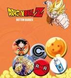 Dragonball Z: Pin Badge Set - Mix 1