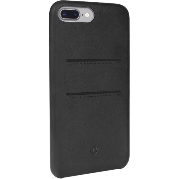Twelve South Relaxed Leather case w/pockets for iPhone 6/6S/7 Plus (Black)