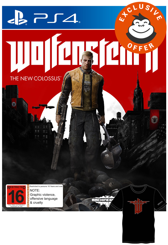 Wolfenstein II: The New Colossus for PS4 image