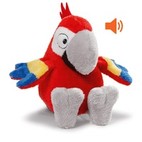 Nici: Macaw with Sound - Small Dangling Plush