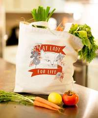 Cavallini & Co: Cat Lady - Tote Bag
