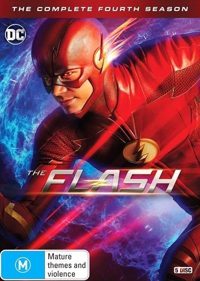 The Flash: Season 4 on DVD image
