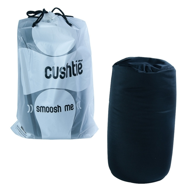 Original Cushtie - Travel Pillow (Black)