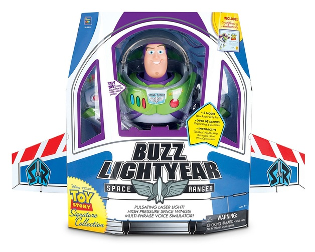 "Toy Story 4: Buzz Lightyear - 12"" Signature Figure"