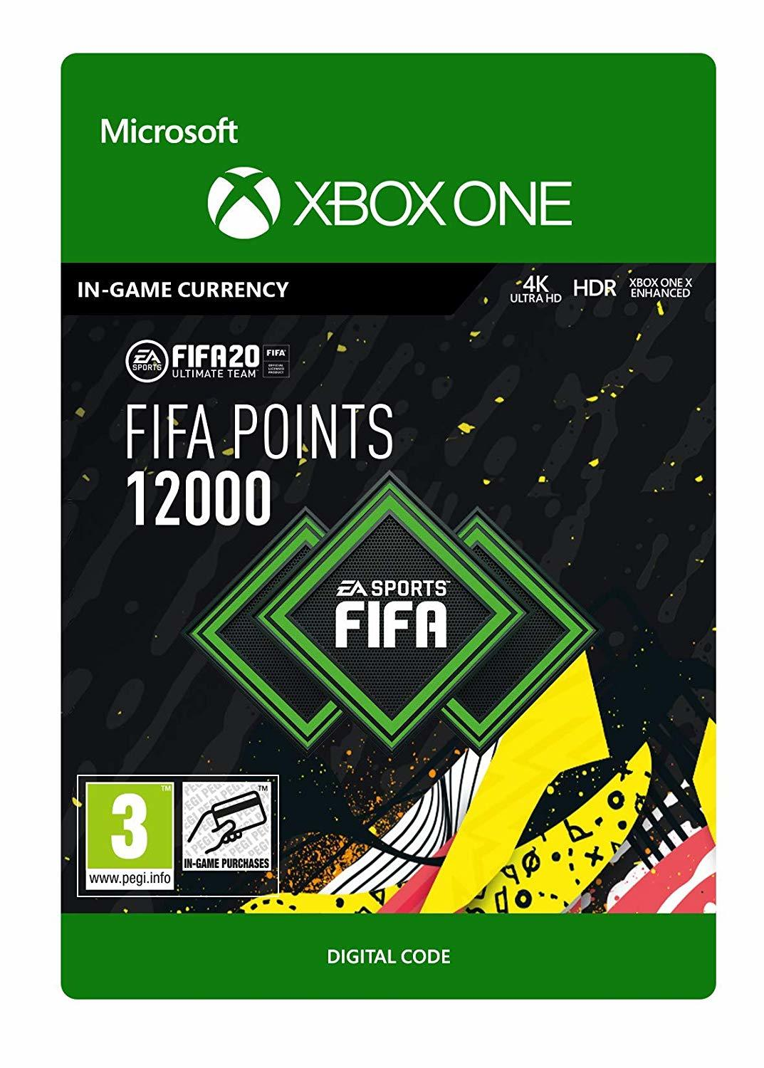 FIFA 20 Ultimate Team - 12000 FIFA Points (Digital Code) for Xbox One image