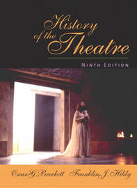 History of the Theatre by Oscar G Brockett image