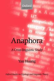 Anaphora by Yan Huang