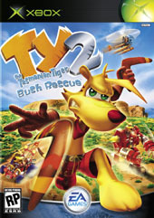 TY the Tasmanian Tiger 2 for Xbox