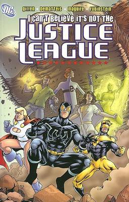 I Cant Believe Its Not Justice League by K Giffen image