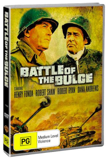 Battle Of The Bulge (1965) on DVD