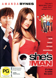 She's The Man on DVD image