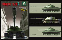 Takom Soviet Heavy Tank Object 279 3 in 1 Model Kit