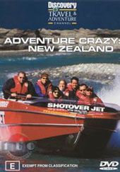 Adventure Crazy: New Zealand on DVD