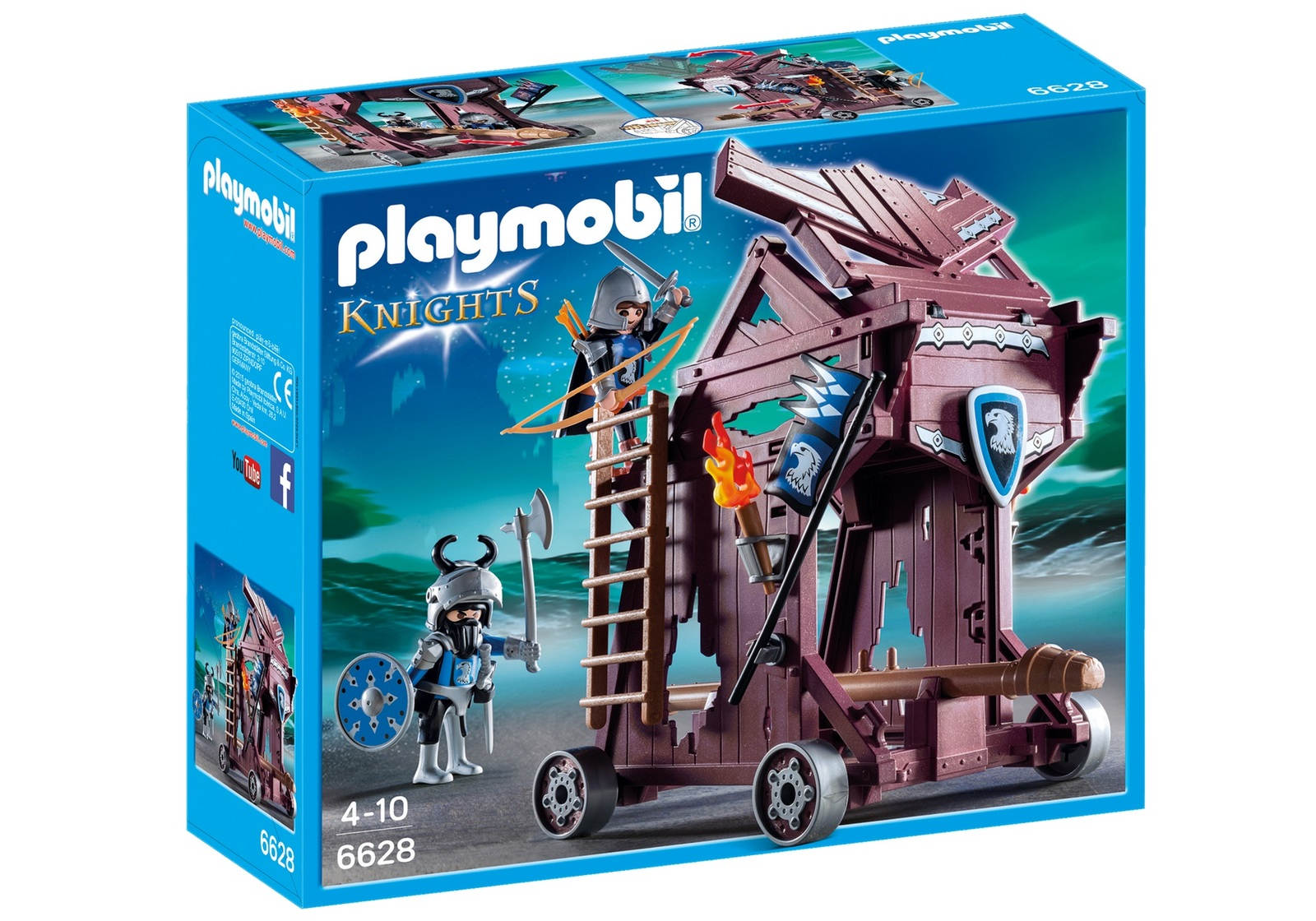 Playmobil: Knights - Eagle Knights` Attack Tower image