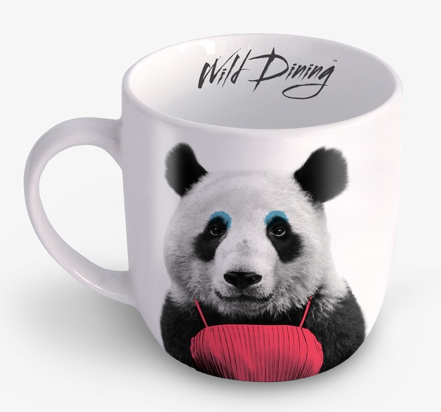 Wild Dining: Ceramic Mug - Panda