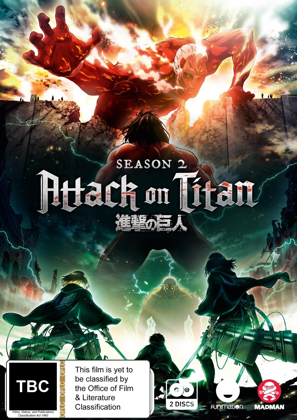 Attack On Titan - Complete Season 2 on DVD image