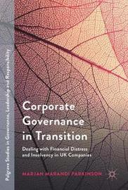 Corporate Governance in Transition by Marjan Marandi Parkinson