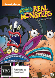 Aaahh!!! Real Monsters: Collector's Set on DVD