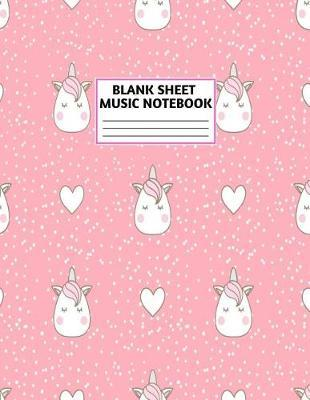 Blank Sheet Music Notebook by Lily Robinson Music
