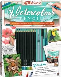 Art Maker: Watercolour Pencils - Art Kit