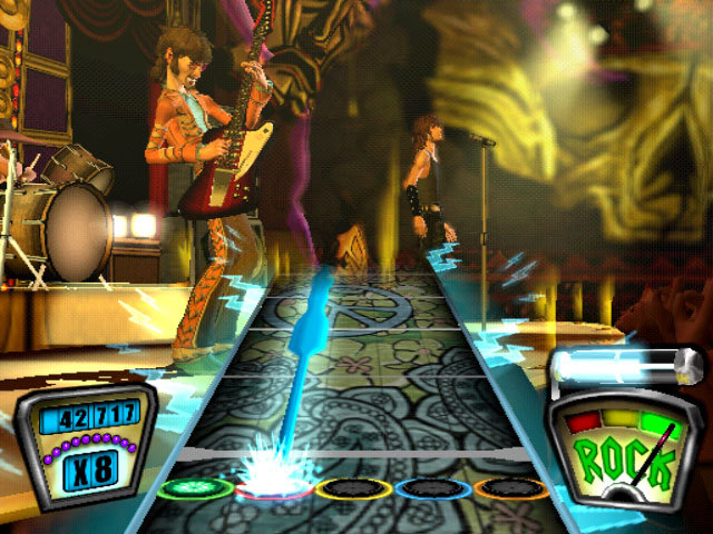 Guitar Hero (includes guitar) for PlayStation 2 image
