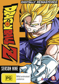 Dragon Ball Z - Season 9 on DVD
