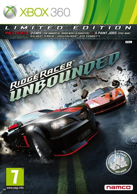 Ridge Racer Unbounded Limited Edition for X360