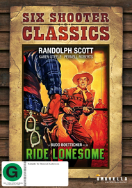 Ride Lonesome on DVD