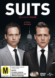 Suits - Season Four DVD