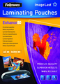Fellowes Laminating Pouches - A3 - 80 Micron Pack 25