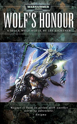 Warhammer: Wolf's Honour (Space Wolf) by Lee Lightner image