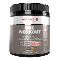 Musashi Pre-Workout - Tropical Punch (225g)