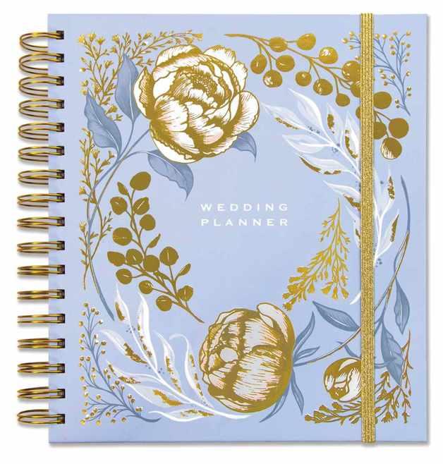 Rachel Ellen: Wedding Planner - Blue Floral