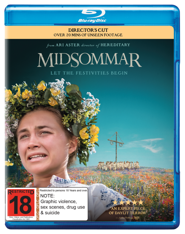 Midsommar (Director's Cut) on Blu-ray