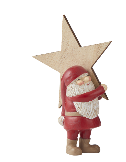 Rogue: Busy Santa Decoration (Star)
