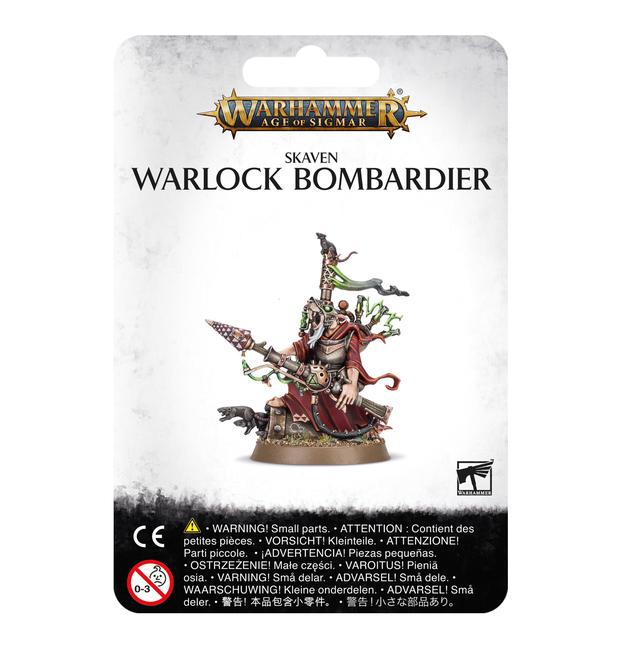Warhamer Age of Sigmar: Skaven, Warlock Bombardier