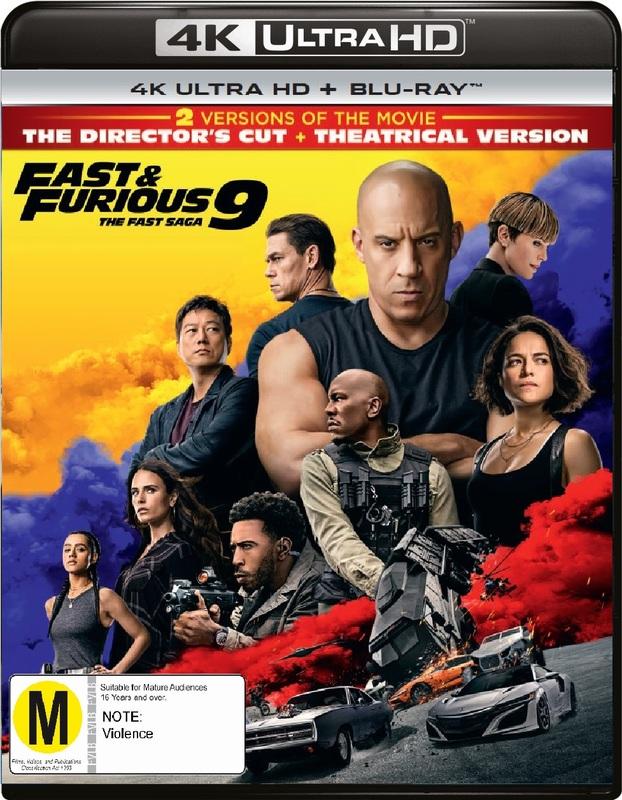 Fast & Furious 9 (4K UHD + Blu-Ray) on UHD Blu-ray