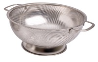 Stainless Steel Perforated Colander - 25.5cm