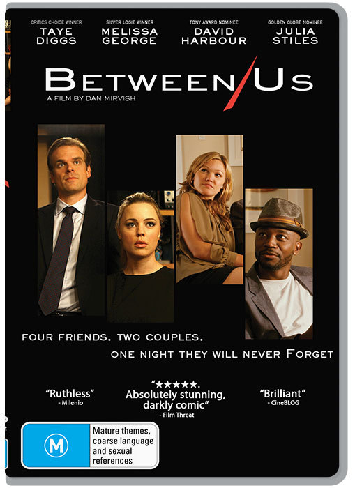 Between Us on DVD