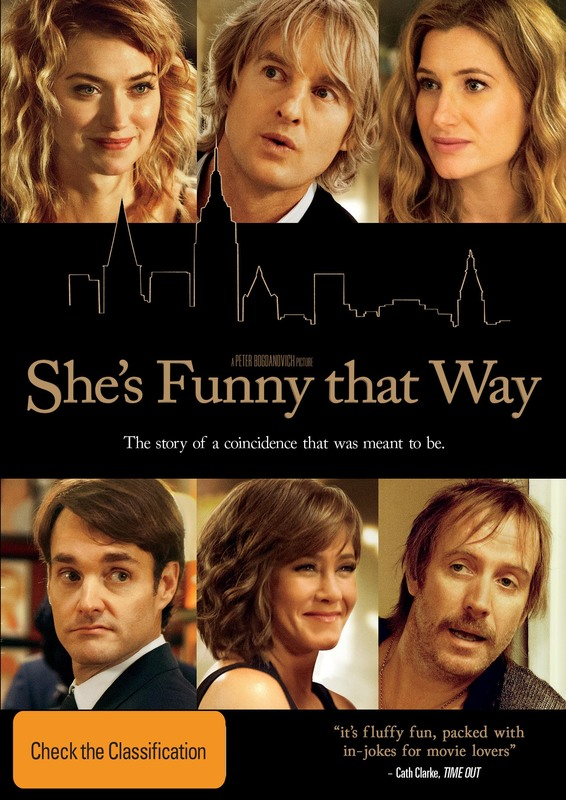 She's Funny That Way on DVD