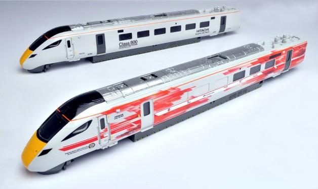 Hornby: Hitachi IEP Test Train Power Units Train Pack