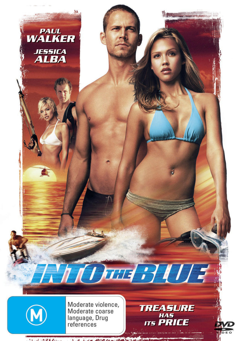 Into The Blue on DVD image
