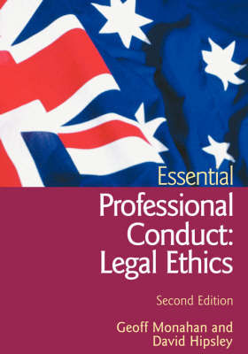 Essential Professional Conduct: Legal Ethics by Geoff Monahan image