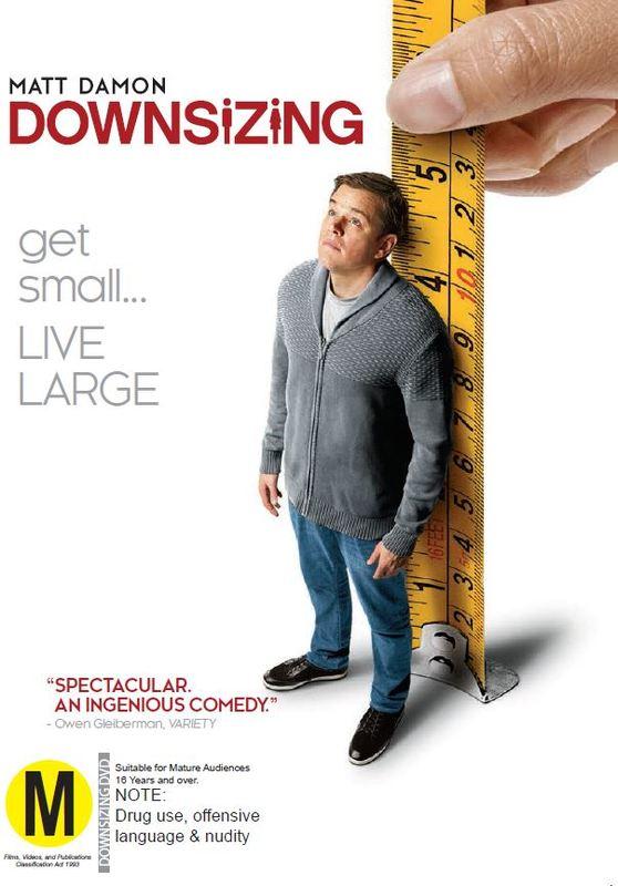 Downsizing on DVD