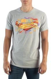 Catdog - Heather Grey Mens T-Shirt (Small)