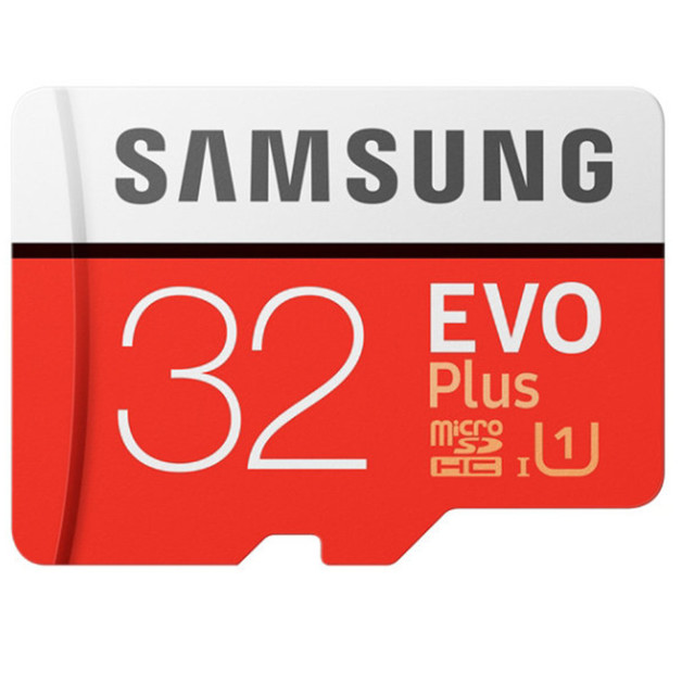 32GB Samsung EVO PLUS Micro SD with Adapter