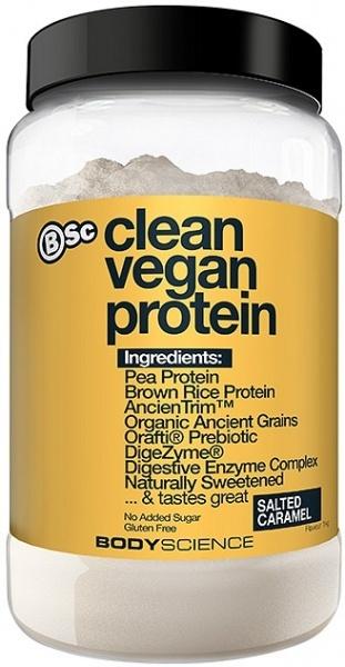 BSC Clean Vegan Protein – Salted Caramel (1kg, 22 Serves)