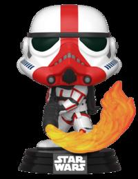 Star Wars: The Mandalorian - Incinerator Stormtrooper Pop! Vinyl Figure image