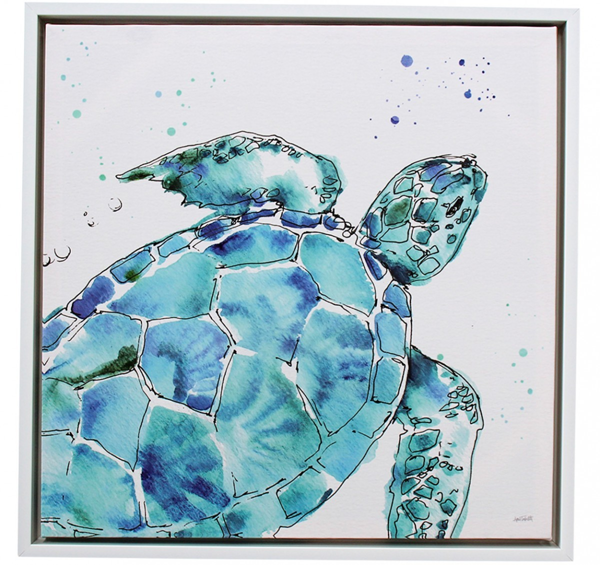LaVida: Canvas - Deep Sea Turtle image
