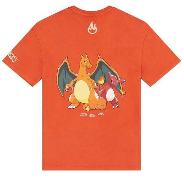 Criminal Damage x Pokemon: Charmander - Fire Red Tee (Size: L)
